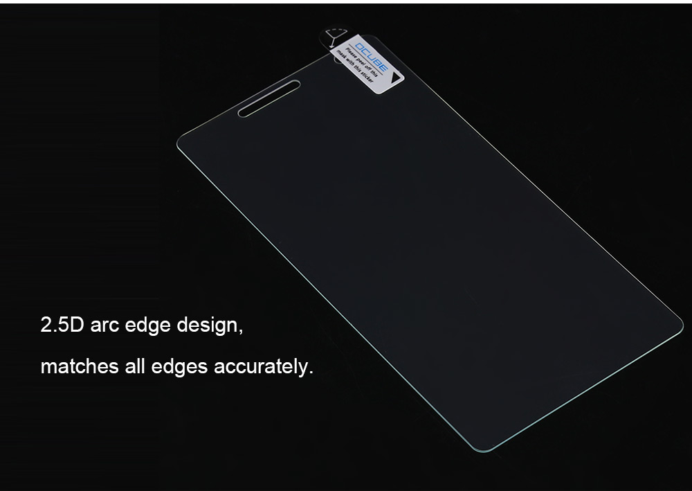 OCUBE Tempered Glass Screen Protective Film for Oukitel C4 Ultra-thin 0.26mm 2.5D 9H Explosion-proof Protector