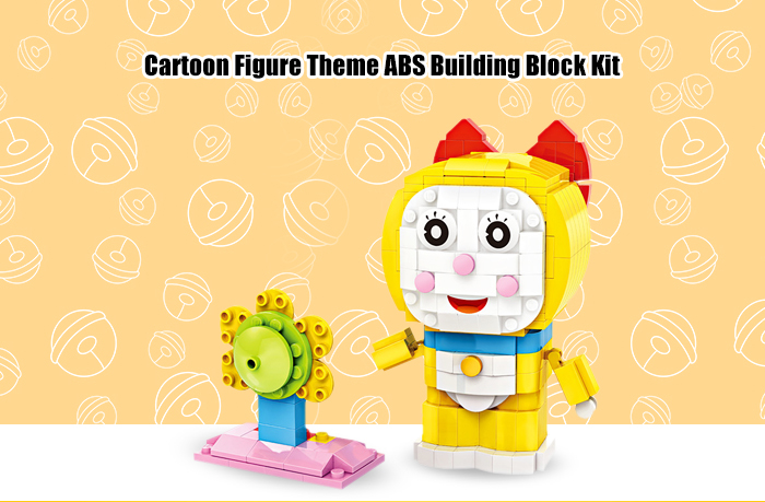 LOZ ABS Anime Figure Building Block Educational Movie Product Kid Toy