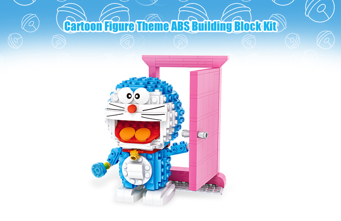 LOZ Animation Figure Building Block ABS Educational Movie Product Kid Toy