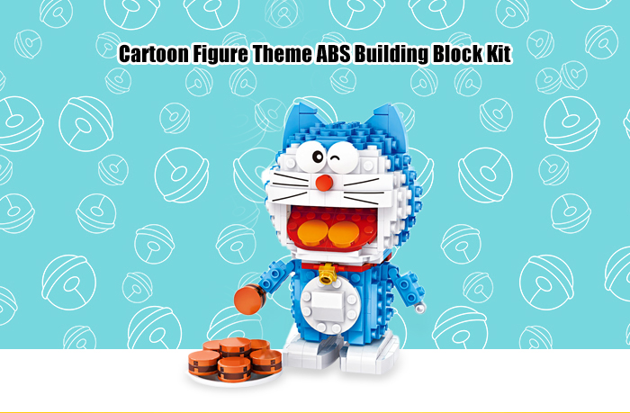 LOZ ABS Animation Figure Building Block Educational Movie Product Kid Toy