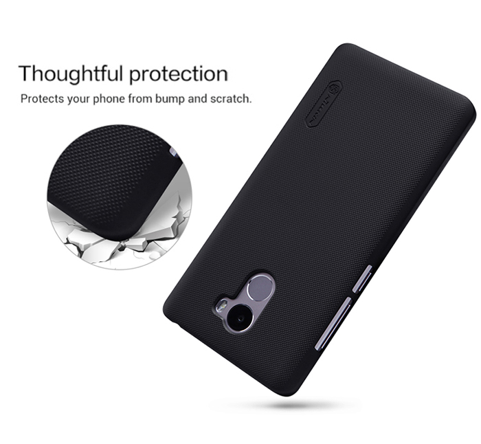 Nillkin Frosted Style PC Hard Protective Cover Case with Screen Film for Xiaomi Redmi 4 Standard Edition
