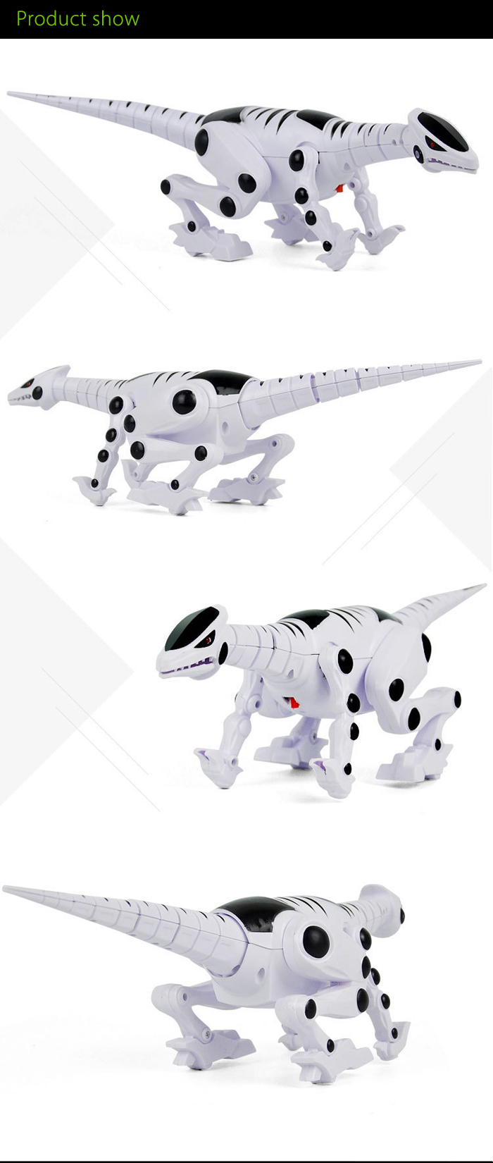 Electric Animal Pet with Roaring Sound Light Toy Children Present
