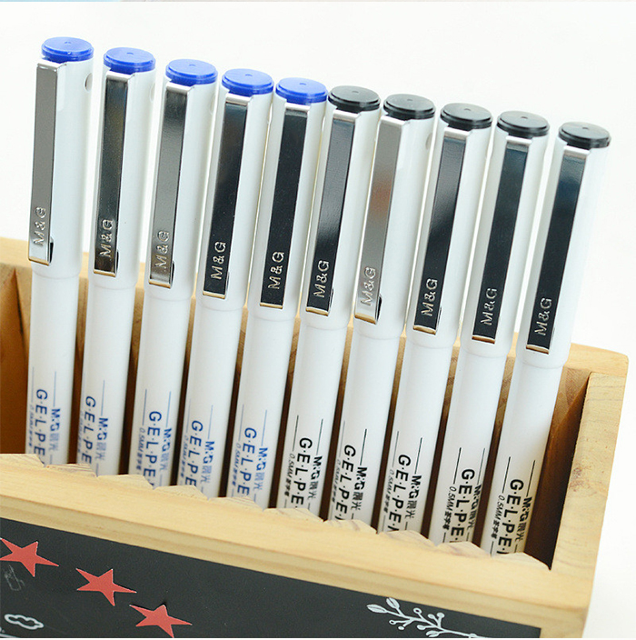 MG ChenGuang GP1390 0.5mm 12PCS Neutral Pen Writing Stationery