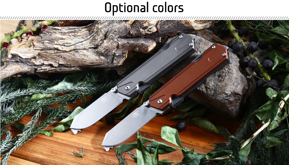 Sanrenmu 7117 LUX - LY - T5 Multifunctional Folding Knife / Saw / Rope Cutter / Bottle Opener / Screwdriver