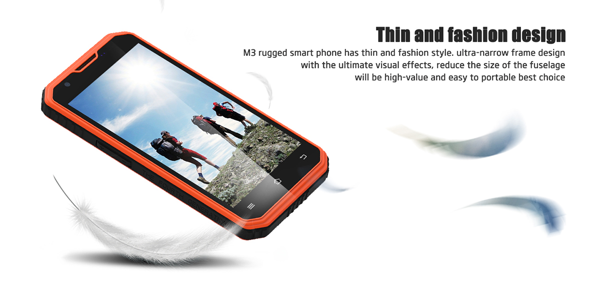 Vphone M3 5.0 inch Android 5.1 4G Smartphone MTK6735 Quad Core 1.3GHz 2GB RAM 16GB ROM 13.0MP + 5.0MP Cameras