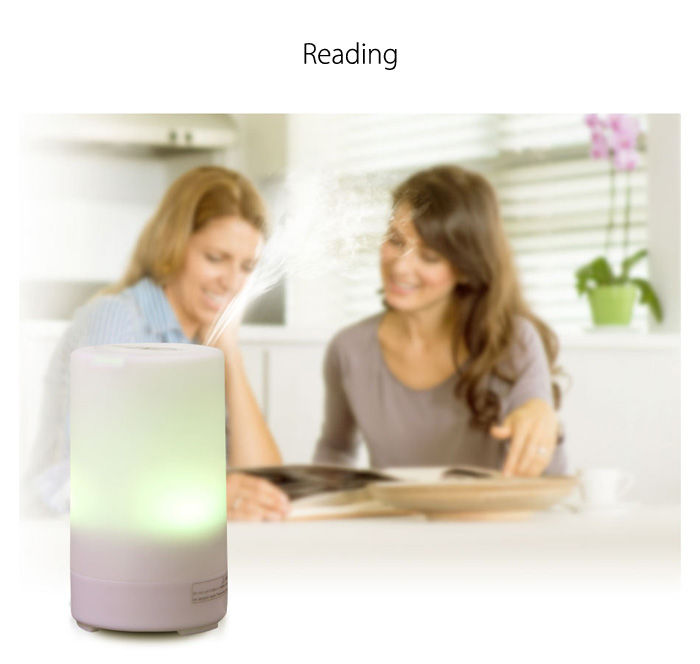 CRDC LIFE CR - DC6 50ml Essential Oil Diffuser Ultrasonic Cool Mist Humidifier for Home Car