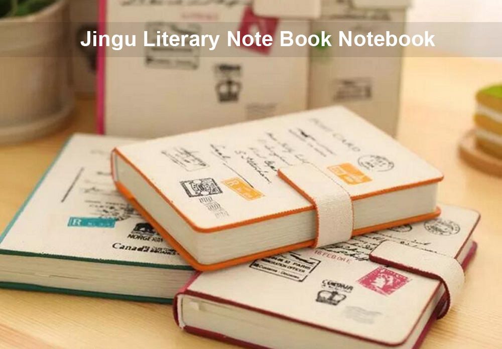 Jingu Literary Note Book Notebook with Magnetic Buckle