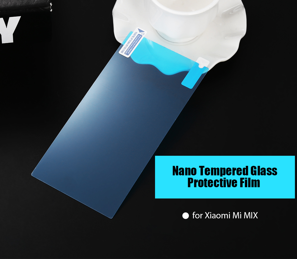 Tempered Glass Nano Screen Protector for Xiaomi Mi MIX 0.18mm Ultra-thin 9H Explosion-proof Anti-fingerprints Protective Film