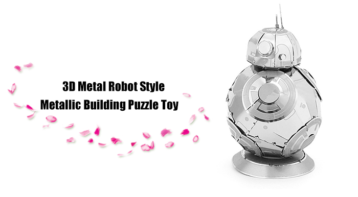 ZOYO 3D Metal Robot Style Metallic Model Educational Assembling Puzzle Toy