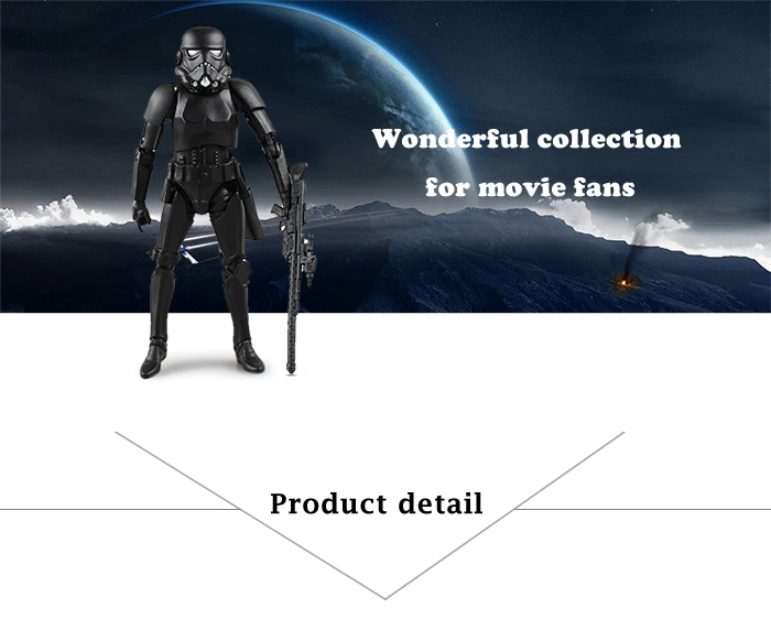 Action Figure Animation Collectible ABS + PVC Figurine - 6.1 inch