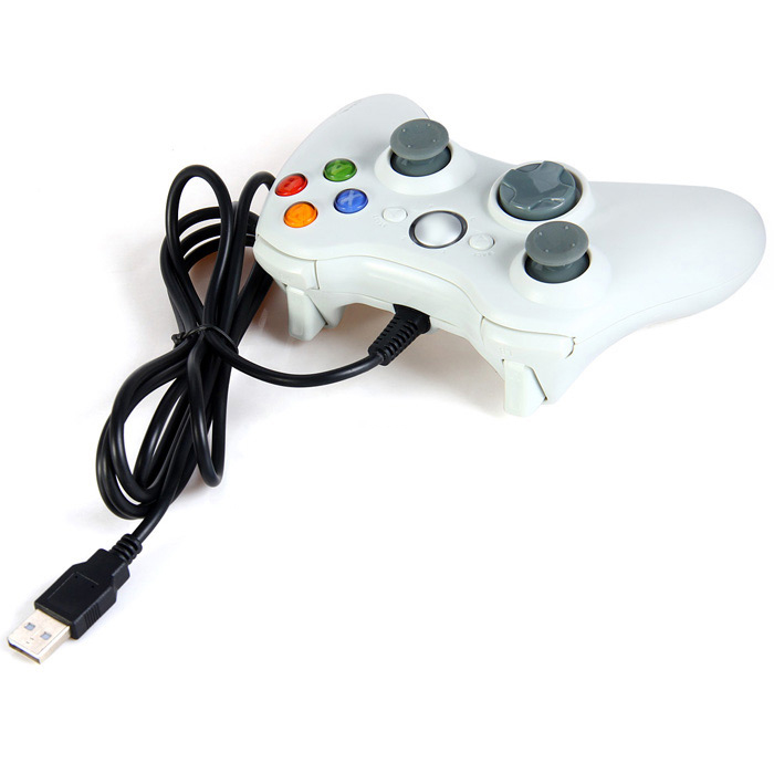 UB360 USB 2.0 Wired Gamepad with Dual Vibration Motors for PC