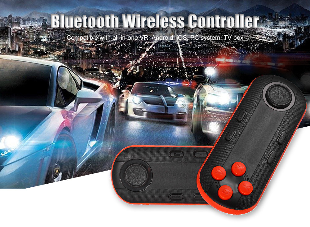 Strong Compatibility 3D VR Glasses Wireless Bluetooth Controller