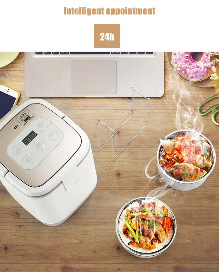 Nciyuan LQ - 015 Intelligent Food Warmer Car Refrigerator Yogurt Machine for Travel