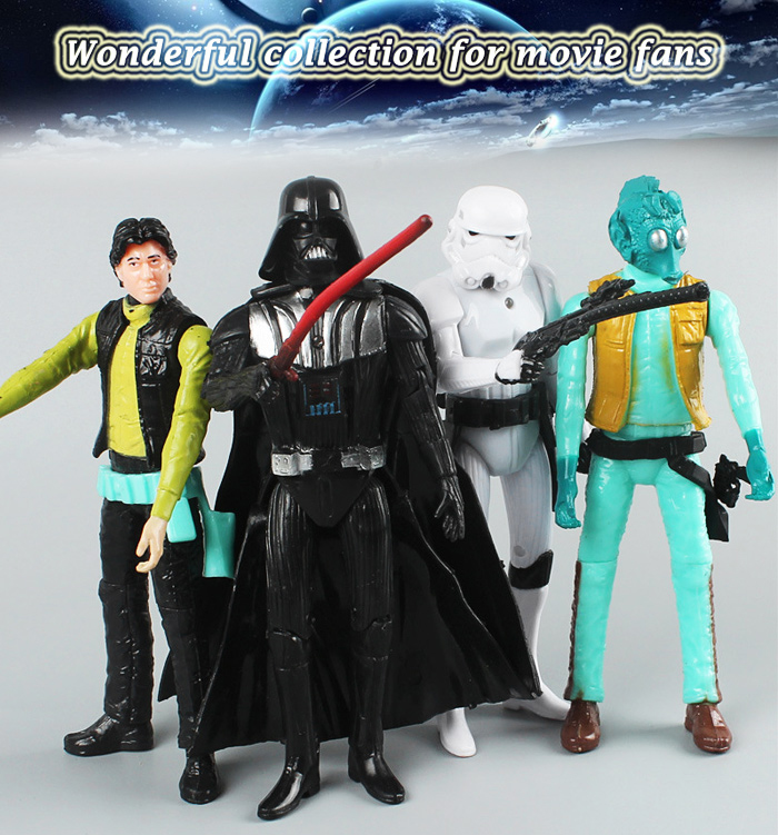 Action Figure Animation ABS + PVC Collectible Figurine - 5.9 inch