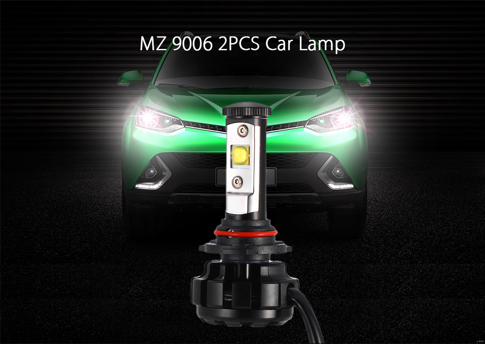 MZ 9006 2PCS Car Light 60W 6000K 7200LM 9V - 30V