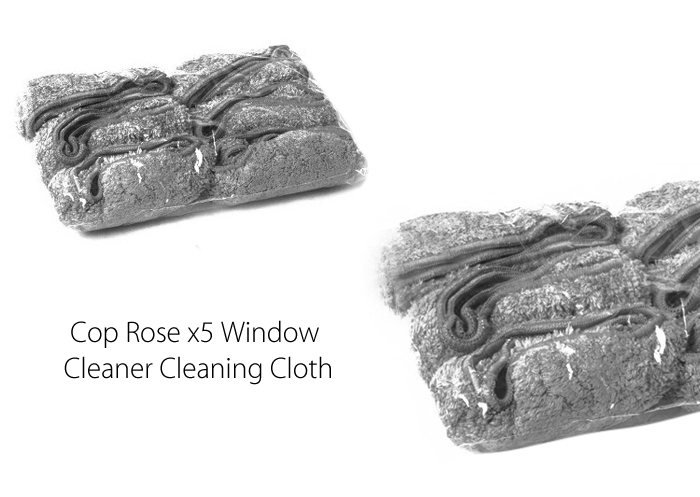 12PCS Robotic Vacuum Window CleanerCleaning Cloth for Cop Rose x5