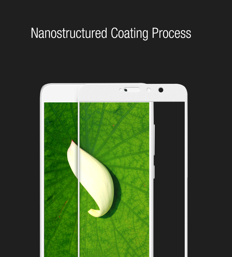Luanke Tempered Glass Full Cover Screen Protective Film for Xiaomi Redmi Pro 0.26mm 2.5D 9H Explosion-proof Membrane