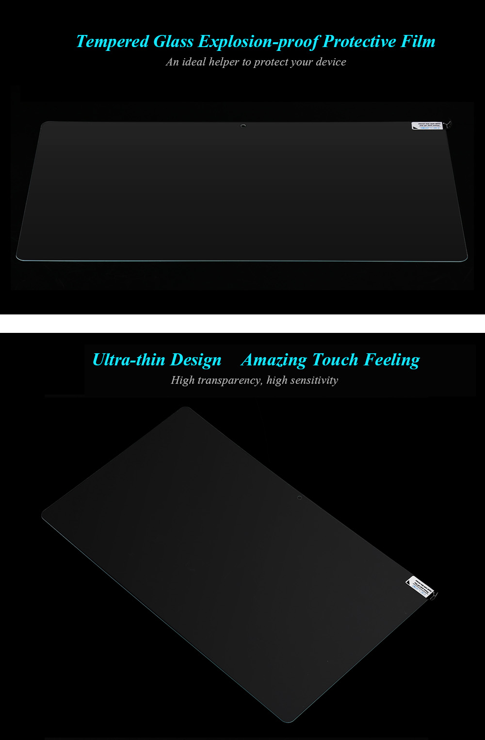 OCUBE Ultra-thin Tempered Glass Explosion-proof Protector for Cube iWork 1x