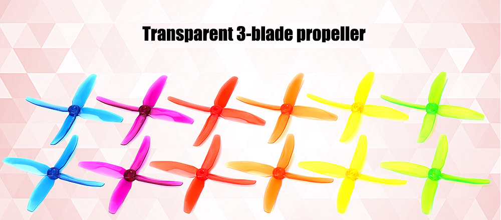 dys XT50404 5040 3-blade Propeller for Racing Multicopter Drone - 6 Pair