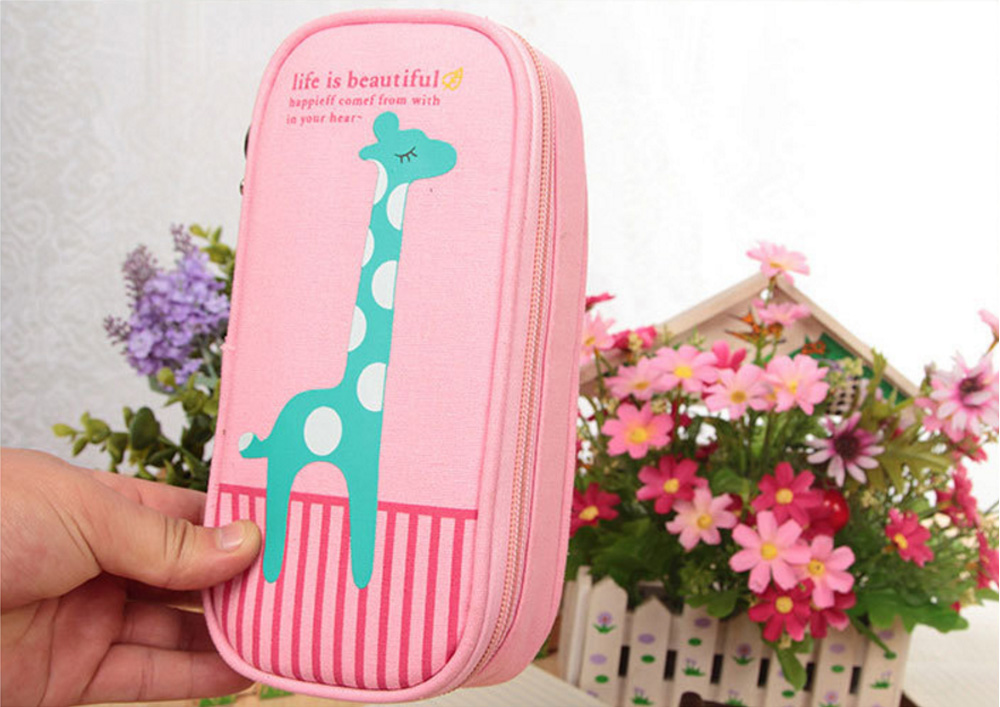 Creative Cute Stationery Case for School / Office Big Capacity