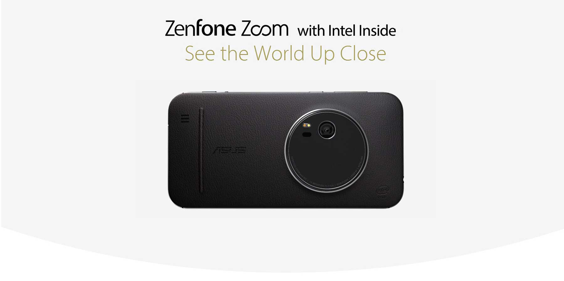 ASUS ZenFone Zoom ZX551ML 5.5 inch Android 5.0 4G Phablet Intel Atom Z3580 64bit Quad Core 2.3GHz 4GB RAM 64GB ROM 13.0MP + 5.0MP Cameras NFC