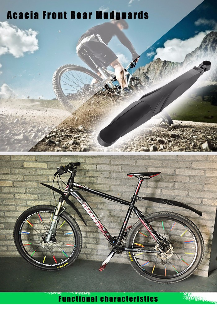 Acacia Front Rear Mudguards for Mountain Bike
