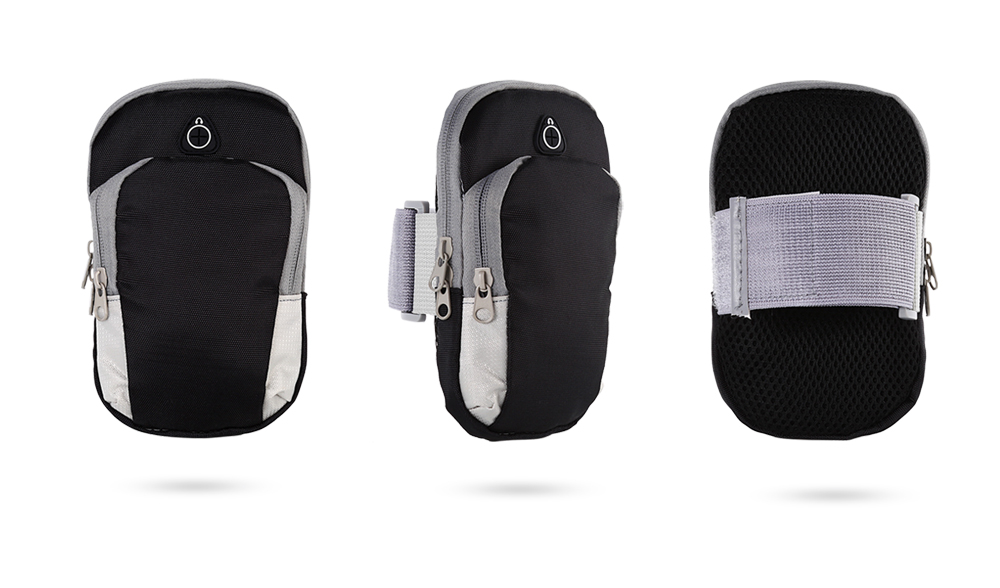 Universal Nylon Mobile Arm Bag Pouch for 4 - 6 inch Smart Phone