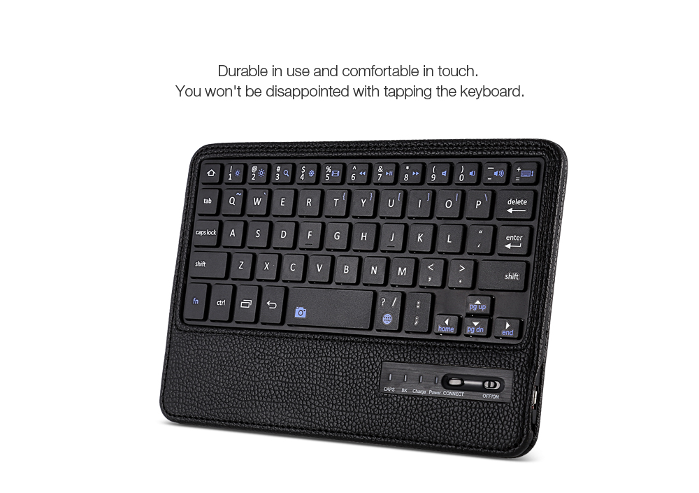 PU Leather Bluetooth Keyboard Case for Samsung Galaxy Tab S2 8.0 ( T710 / T715 )