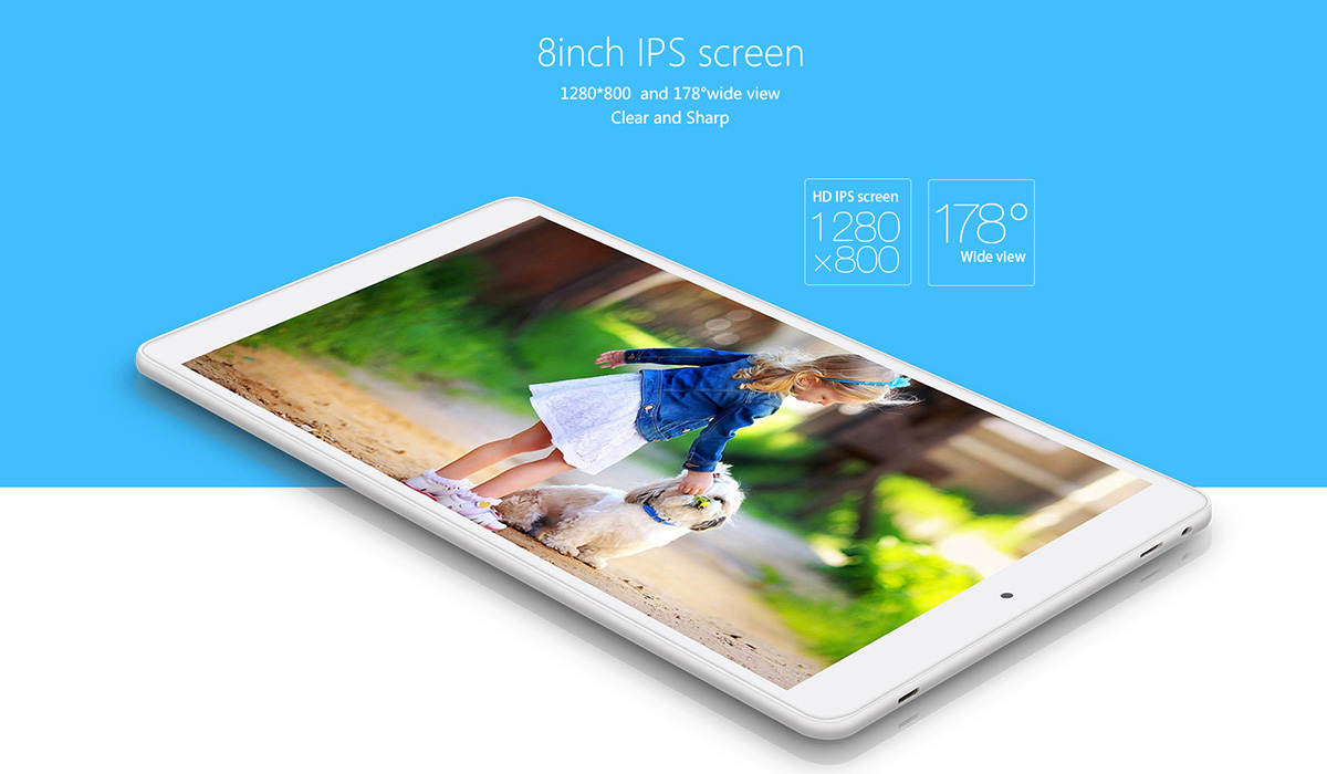 Teclast X80 Plus 8.0 inch WXGA IPS Screen Tablet PC Intel Cherry Trail X5 Z8350 64bit Windows 10 + Android 5.1 Quad Core 1.44GHz 2GB RAM 32GB ROM WiFi Bluetooth 4.0 HDMI