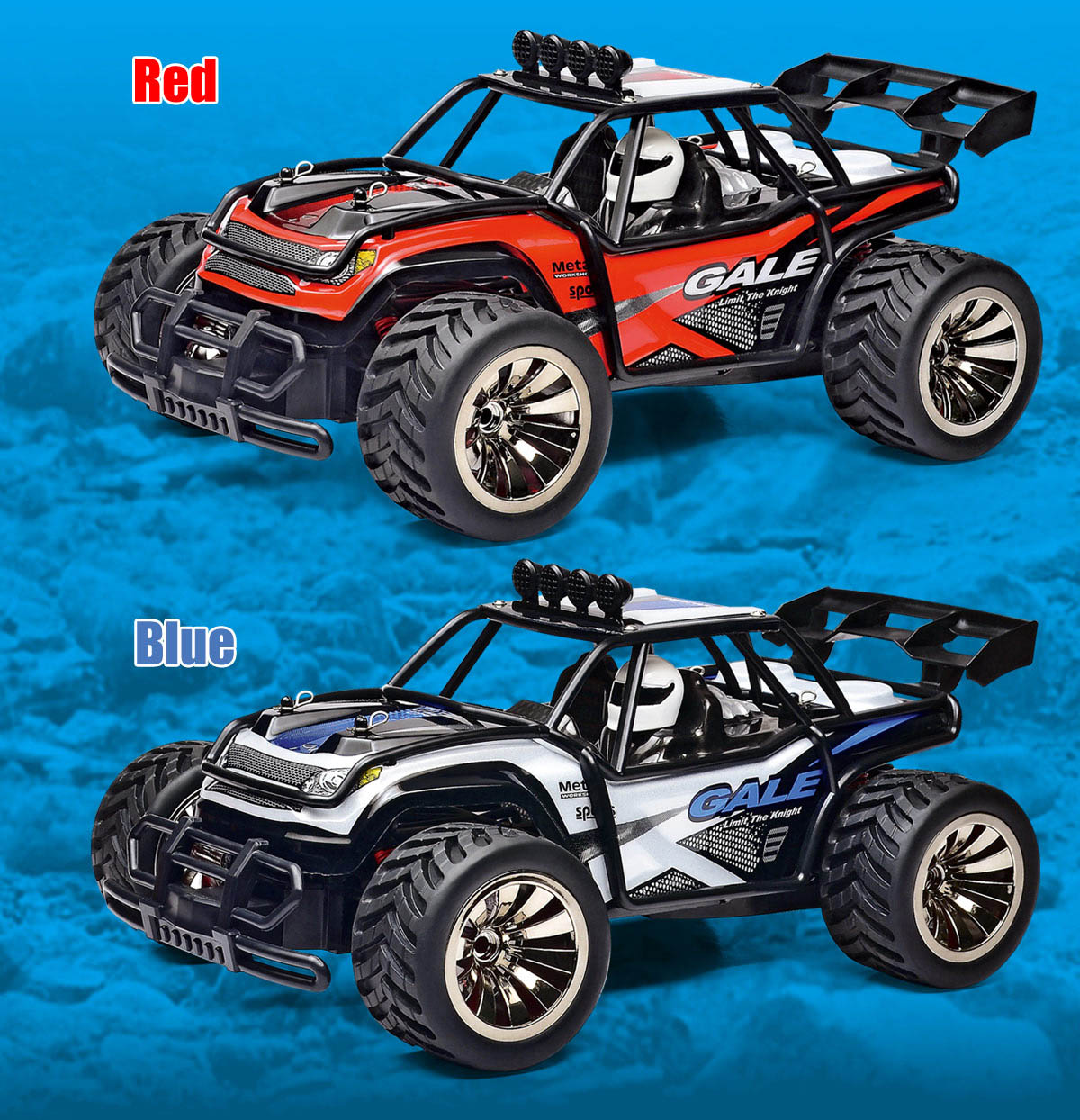 SUBOTECH 1512 1:16 2WD RC Off-road Racing Car RTR 2.4GHz Proportional Control / Rear Engine / PVC Shell