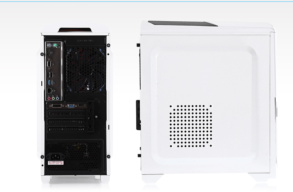 Assembly Computer Host AMD A8 7600B Quad-core CPU / SOYO SY - A86K FS S2 AMD K15 Motherboard / 8G DDR3 Memory / 120G Solid State Disk Mid-tower