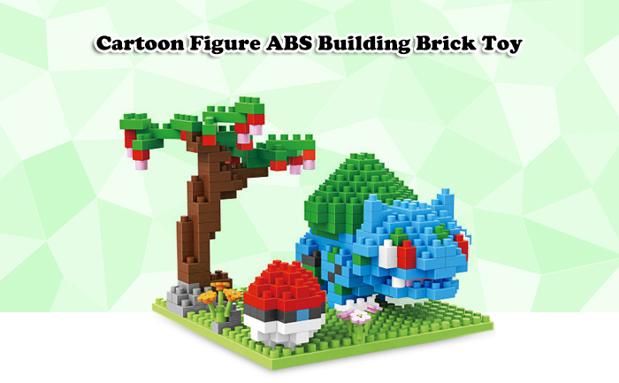ABS Anime Figure Building Block Educational Movie Product Kid Toy - 313pcs