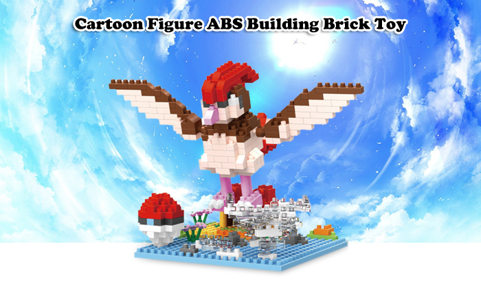 ABS Anime Figure Building Block Educational Movie Product Kid Toy - 353pcs