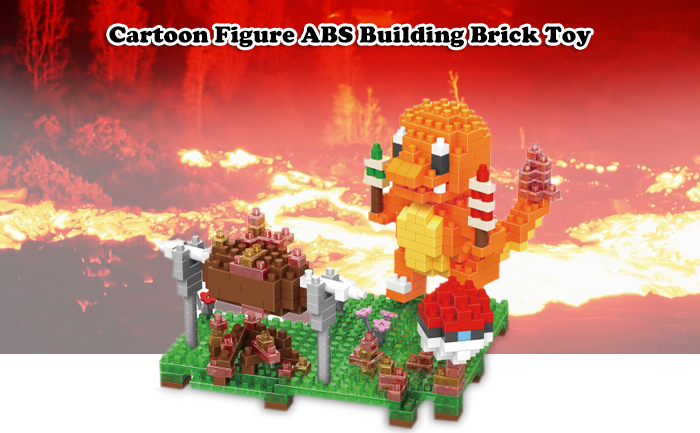ABS Anime Figure Building Block Educational Movie Product Kid Toy