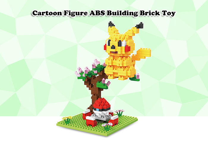 ABS Anime Figure Building Block Educational Movie Product Kid Toy - 360pcs