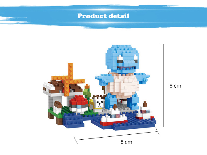 ABS Anime Figure Building Block Educational Movie Product Kid Toy - 375pcs