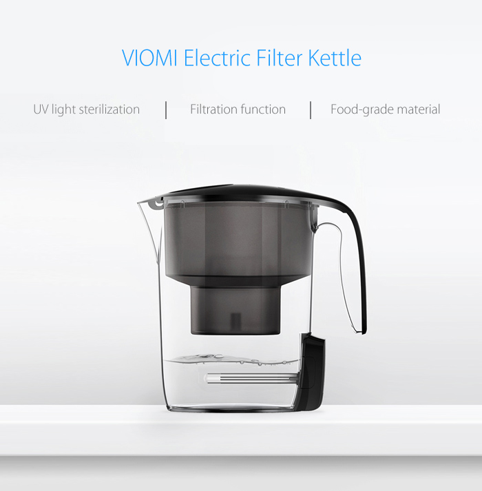 VIOMI MH1Z - A 3.5L Electric Filter Kettle Water Purification UV Sterilization