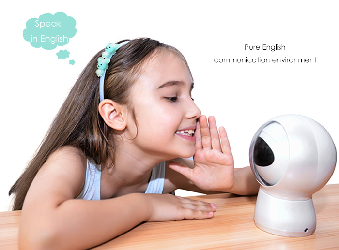 Moorebot MB01 Learning Robot English Smart Interactive Early Robotic Toy