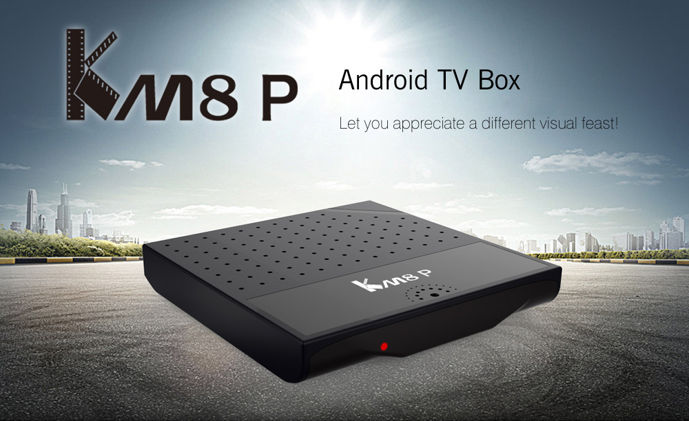 Mecool KM8 P TV Box Amlogic S912 Octa Core CPU Android 6.0 with KODI 17.0