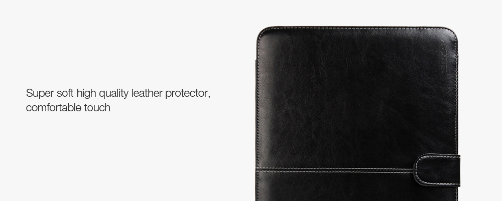 ENKAY Super Soft PU Leather Protective Full Body Case for MacBook Air 11.6 inch