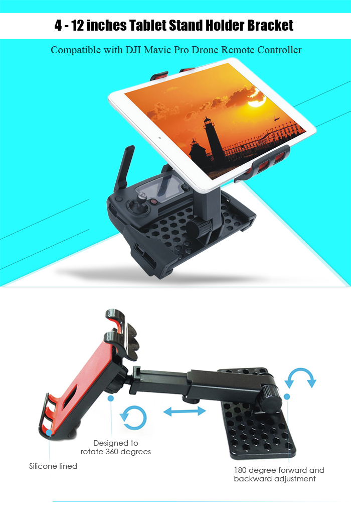 Tablet Mount Holder Bracket for DJI Mavic Pro Quadcopter