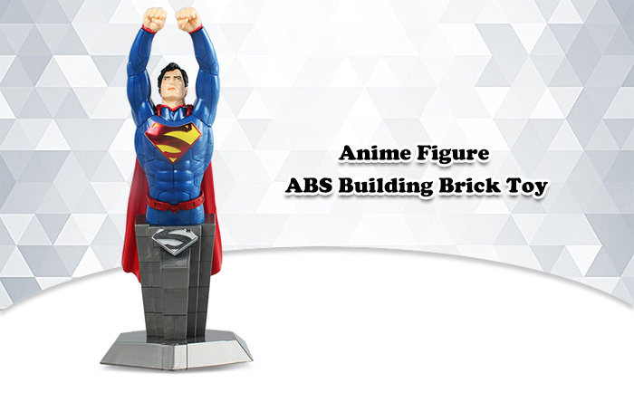53pcs ABS Anime Figure Building Block Educational Movie Product Kid Toy