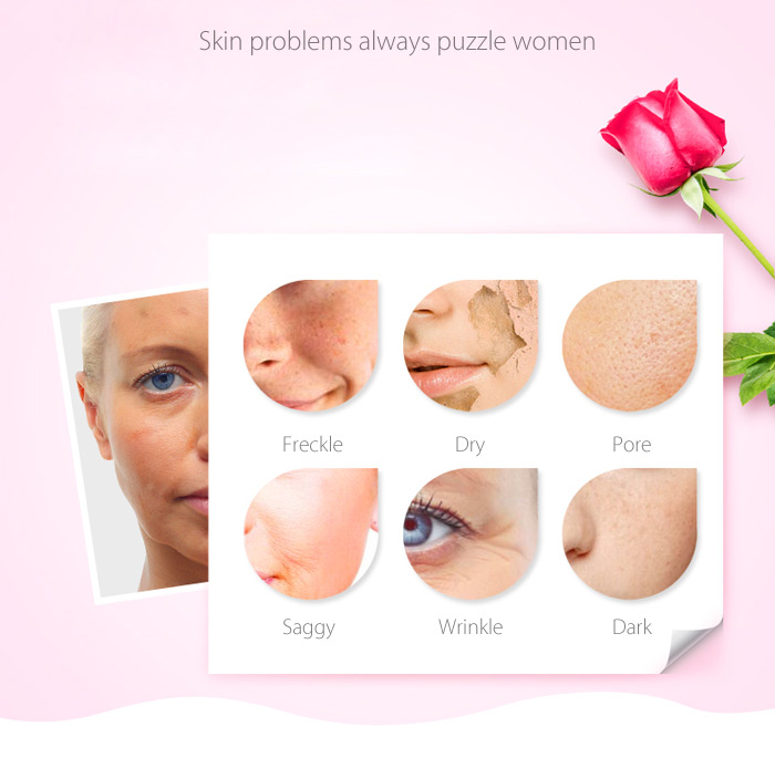 ROSELLE Ozonizer Face Moisturizing Tools for Home