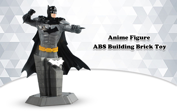 ABS Anime Figure Building Block Educational Movie Product Kid Toy - 53pcs