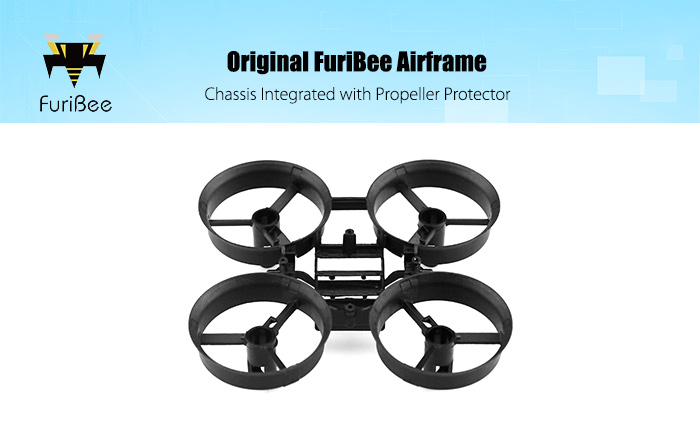 Original FuriBee Chassis for F36 Mini RC Quadcopter
