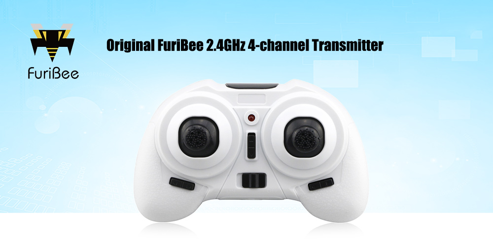 Original FuriBee 2.4GHz 4-channel Transmitter for F36 Mini RC Quadcopter