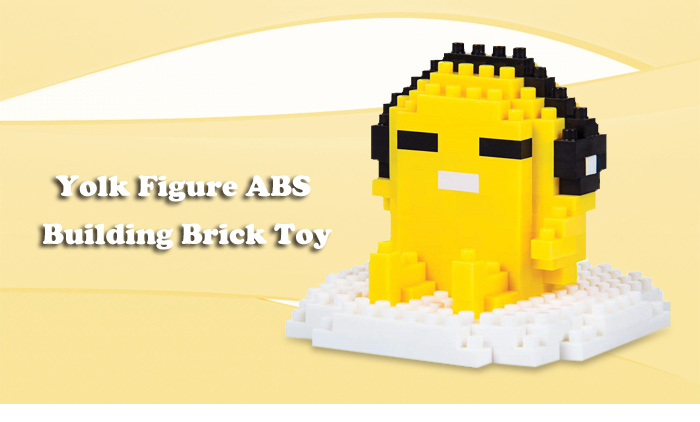 ABS Anime Yolk Figure Building Block Educational Movie Product Kid Toy