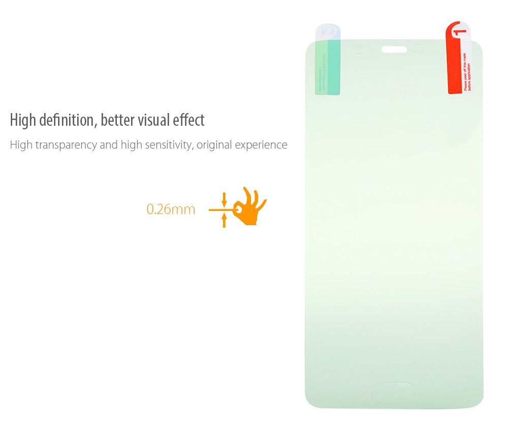 Original Elephone Explosion-proof Film for S7 0.26mm 2.5D 9H