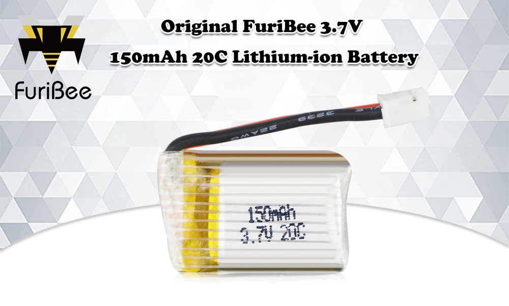Original FuriBee 3.7V 150mAh 20C Li-ion Battery for Mini RC Quadcopter