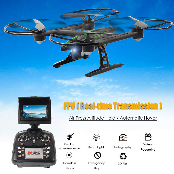 JXD 510G 5.8G FPV 6-assi RC Drone